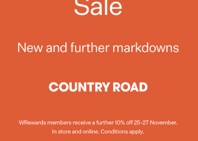 Country Road Black Friday Sale
