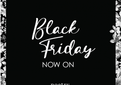 Poerty Black Friday Sale