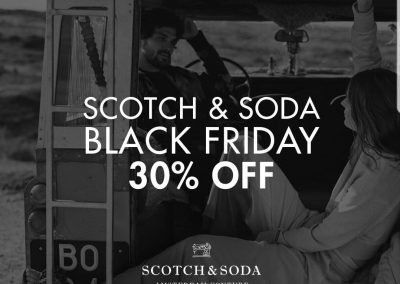 Scotch & Soda Black Friday - 30% OFF
