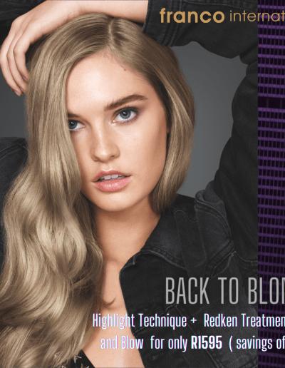 Franco International - Back To Blonde